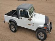 1982 jeep Jeep CJ Convertible Pickup Style